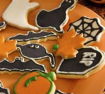 Przepisy na Halloween: dyniowe ciasteczka z czekoladą