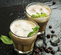 Mrożona kawa czekoladowa z miętą