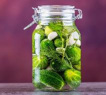 Najprostszy przepis na ogórki kiszone - ogórki kiszone z przyprawą do kwaszenia ogórków