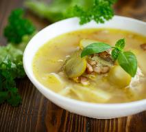 Zupa ogórkowa z imbirem i mlekiem kokosowym - przepis dietetyczny