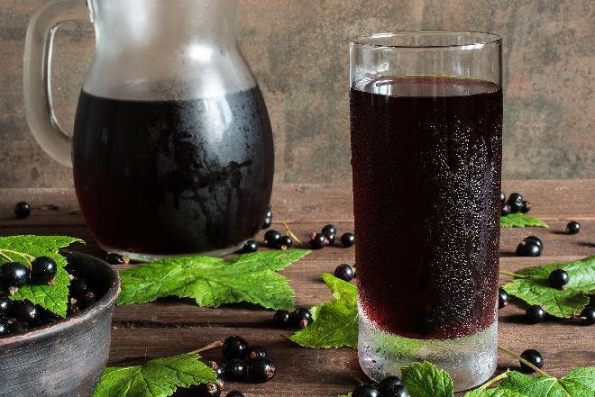 Sok z czarnej porzeczki - do spiżarni na zimę