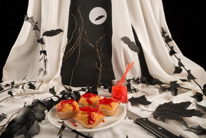 Halloween: krwiste babeczki [sprawdzony przepis]