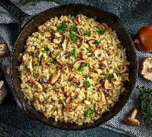 Grzybowe risotto z piekarnika bez wysiłku: pyszne i łatwe