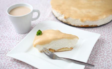 Boski sernik chałwowy na ciasteczkowym spodzie - wypróbowany przepis